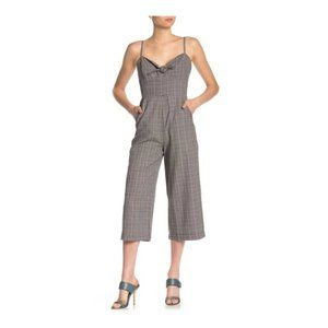 NWT Plaid Knot V-Neck Jumpsuit from Nordstrom
